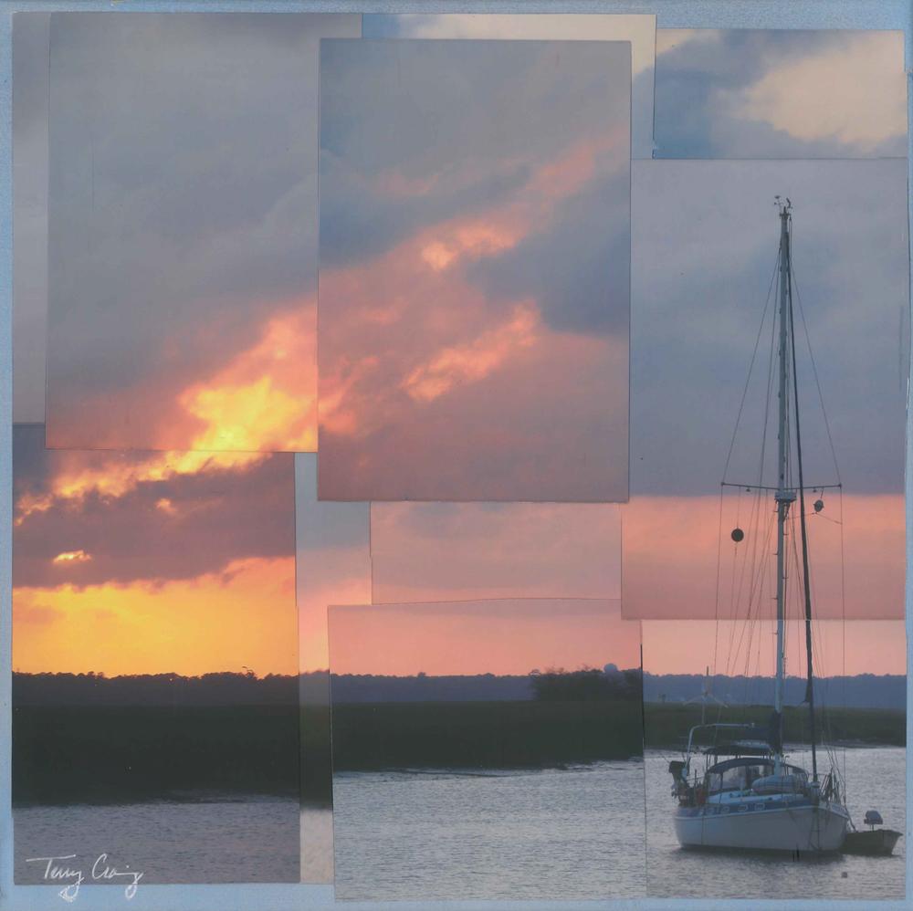 Epworth Sunset - Sailboat