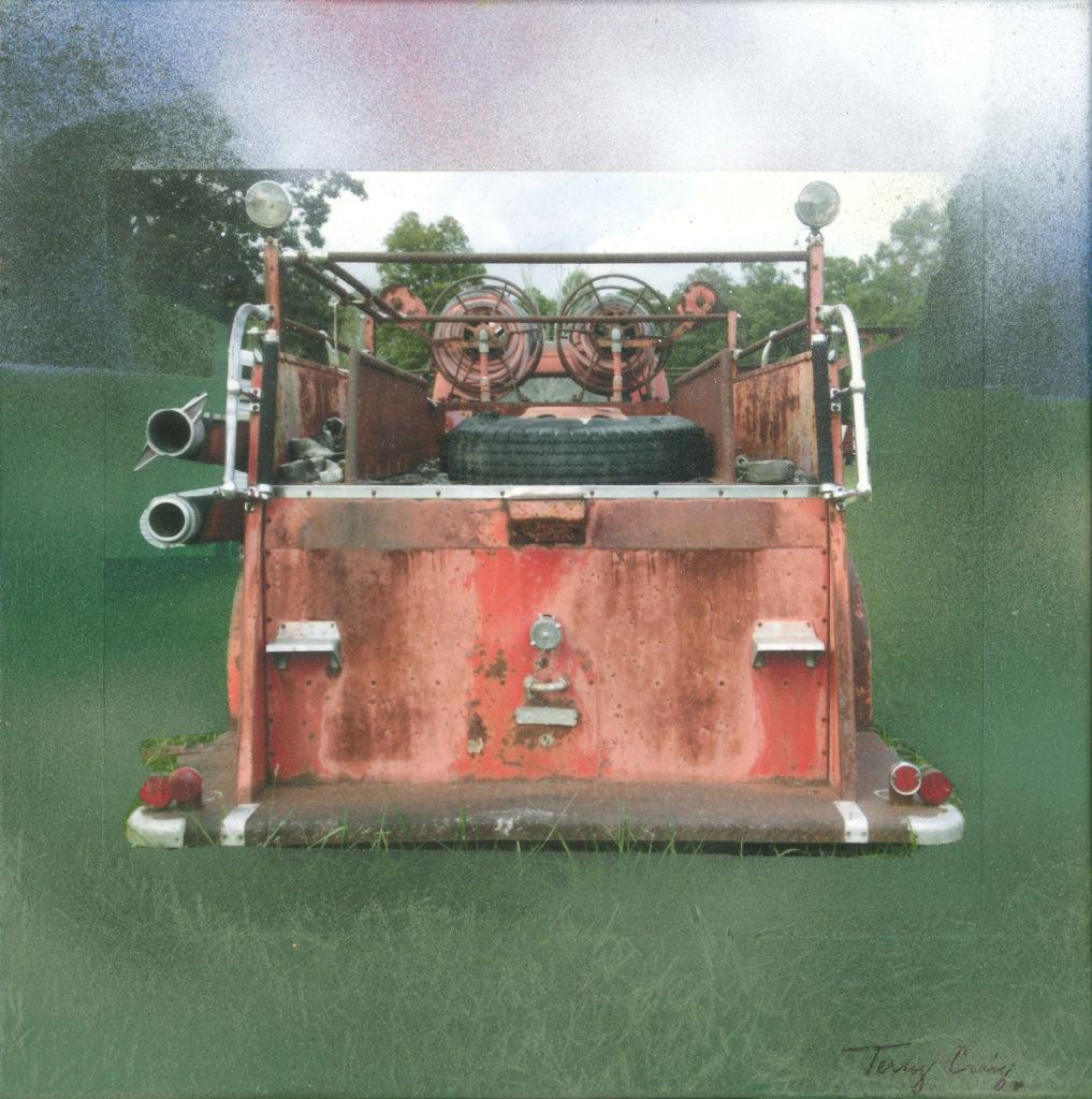 Fire Truck Rear